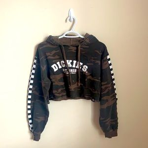 DICKIES camouflage crop sweater